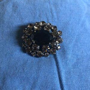 Vintage brooch silver